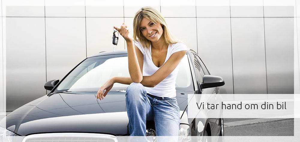 Vi tar hand om din bil